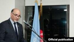 محمود صیقل، نماینده افغانستان در ملل متحد