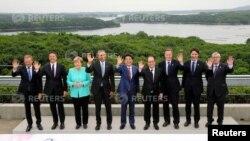 Учасники саміту «Великої сімки» у Японії