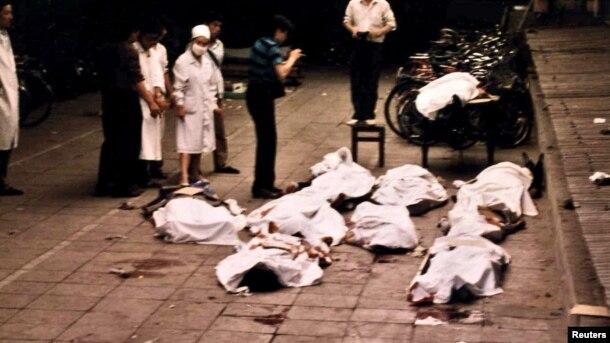 Tiananmen Square June 4 1989