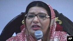 وفاقی وزیر اطلاعات فردوس عاشق اعوان