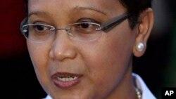 Indonesian Foreign Minister Retno Lestari Priansari Marsudi