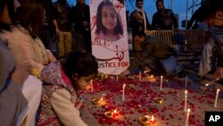 Pakistan Girl Killed