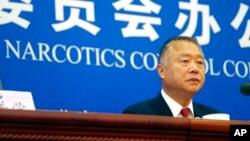 Заместитель директора Национальной комиссии КНР по контролю над оборотом наркотиков Ли Юэцзинь