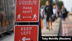 Znak za pešake u Londonu
