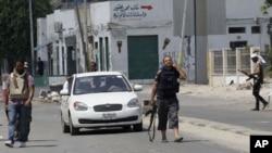 تصرف یک شهرک شرقی لیبیا توسط مخالفین حکومت در آن کشور