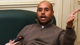 Saif al-Islam Gadhafi (file photo)