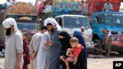 افغان پناہ گزینوں کی وطن واپسی، (فائل فوٹو)