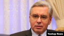 알렉산드르 티모닌 주한 러시아 대사. (자료사진)