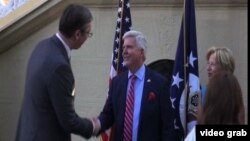 Prijem u rezidenciji ambasadora SAD u Beogradu povodom Dana nezavisnosti SAD
