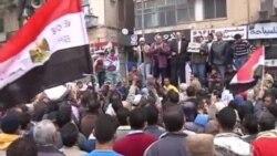 اعتراضات مردم به سرکوب جامعه مدنی در مصر