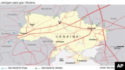Jaringan pipa gas Ukraina