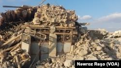 Xanîyekî kavilbûyî li Efrînê