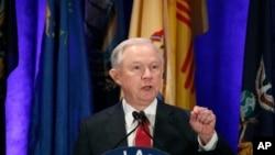 제프 세션스 미국 법무장관 (자료사진)
