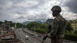 Especialista vê necessária intervenção militar no Rio de Janeiro