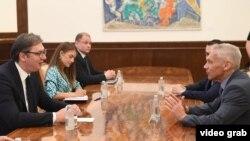 Predsednik Srbije na sastanku sa ambasadorom Rusije (izvor: sajt Predsedništva Srbije)