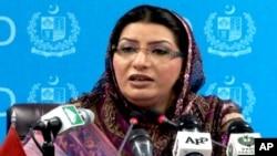 وزیر اطلاعات فردوس عاشق اعوان نے ان خدشات کو مسترد کیا ہے کہ حکومت آزادی صحافت پر قدغن لگانے کا ارادہ رکھتی ہے۔