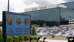 FILE - The National Security Administration (NSA) campus in Fort Meade, Maryland, is shown June 6, 2013.