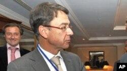 Koen Vervaeke, l'envoyé de l'Union européenne (UE) pour la région des Grands Lacs, 11 mars 2011.