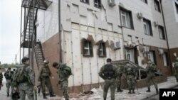 Çeçenistan parlamenti hücuma məruz qalıb
