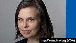 İnsan Hakları Gözlem Örgütü Türkiye Araştırmaları Başkanı Emma Sinclair-Webb