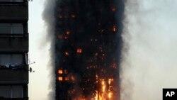 Hỏa hoạn tại London