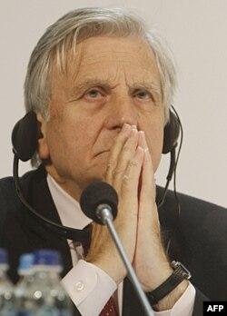 Jan-Klod Triche, Yevropa Markaziy Banki rahbarlaridan biri