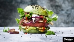 meat-free burger