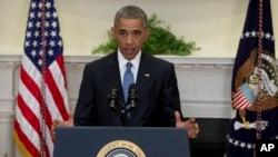 اوباما وایي د امریکا حکومتي چارواکي د سړو تښتونکو او د هغوی د آستازو سره تماس نیولای شي.