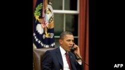 Barak Obama Bin Ladenin evinə reyd keçiriən xüsusi təyinatlı qüvvələrin üzvləri ilə görüşür