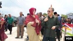 Walikota Aceh Illiza Sa'aduddin mengatakan bahwa anak korban kekerasan seksual perlu pendampingan khusus (Foto: dok/VOA-Budi Nahaba)