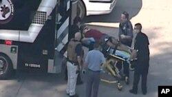 El herido acusado fue identificado como Carlton Berry, de 22 años.