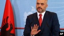 Ալբանիայի վարչապետ Էդի Ռամա