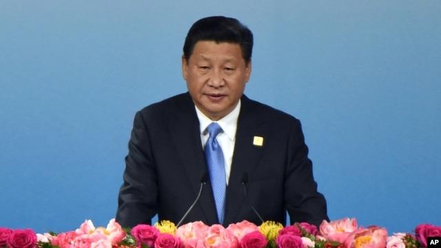 Ông Tập Cận Bình nhấn mạnh Trung Quốc mưu tìm hòa bình chứ không phải xung đột và mong muốn giải quyết ôn hòa các tranh chấp trên biển.