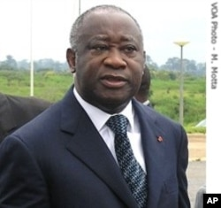 Le président Gbagbo