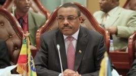 Ethiopian Acting Prime Minister Hailemariam Desalegn.