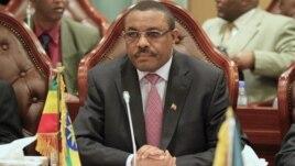 Ethiopian Deputy Prime Minister Hailemariam Desalegn, December 24, 2011.
