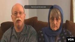 美国人质阿卜杜拉•拉赫曼•卡西格父母: 宝拉和艾德•卡西格