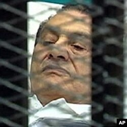 Mubarak em tribunal