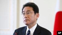 Ngoại trưởng Nhật Fumio Kishida.