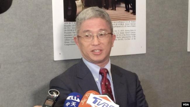 美国务院亚太助卿史迪威会晤台湾外交部次长徐斯俭