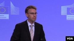 Peter Stano, portparol evropskog komesara za proširenje, Štefana Filea, Brisel, 12. jun 2012.