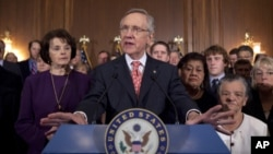 امریکی سینیٹ میں قرضے کی حد میں اضافے کا بل منظور