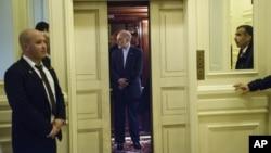 伊朗首席談判代表薩利赫在瑞士與美國官員會談