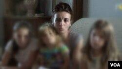 Marijana Bogavac sa decom