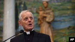 华盛顿特区枢机主教唐纳德·维尔 (资料照片)