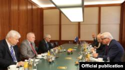 Almaniya XİN rəhbəri Minsk qrupunun həmsədrləri ilə Qarabağ münaqişəsini müzakirə edib