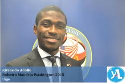 """""""Encontrámos uma verdadeira família em Washington DC"""" Riveraldo Adolfo"""