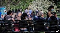 Парк в Нью-Йорку