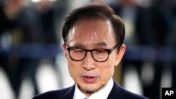«لی میونگ باک» رئیس جمهوری اسبق کره جنوبی - آرشیو