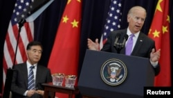 Biden On U.S. - China Dialogue